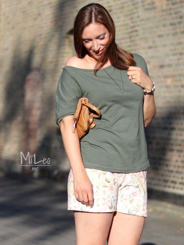 Produktfoto von Meine Herzenswelt zum Nähen für Schnittmuster Shirt Damen - Meine Cara