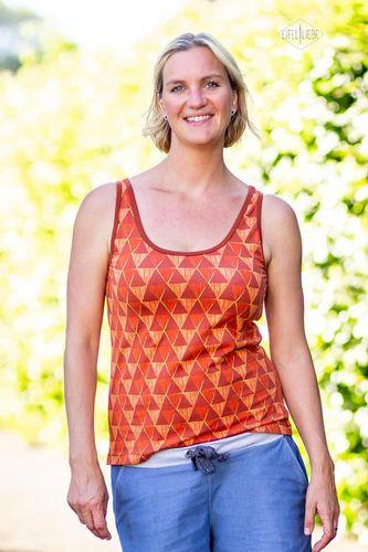Produktfoto von Meine Herzenswelt zum Nähen für Schnittmuster Tanktop Damen - Meine Lucy
