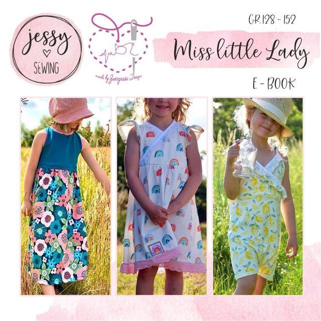 Produktfoto von Zwergnase-Design zum Nähen für Schnittmuster *miss little lady* Baukasten 128-152
