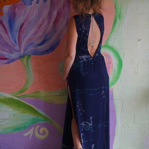 Produktfoto von Näh Bärchen zum Nähen für Schnittmuster Sommerkleid Victoria goes big