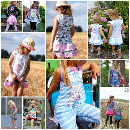 Produktfoto von Engelinchen zum Nähen für Schnittmuster Sommertunika Cara