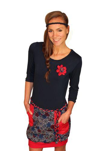 Produktfoto von einfach anziehend zum Nähen für Schnittmuster Ballonkleid Carolina