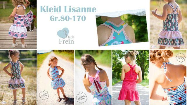 Produktfoto von 3fachFrein zum Nähen für Schnittmuster Kleid Lisanne