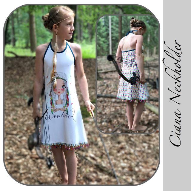 Produktfoto von gialLino zum Nähen für Schnittmuster Ciana Neckholder