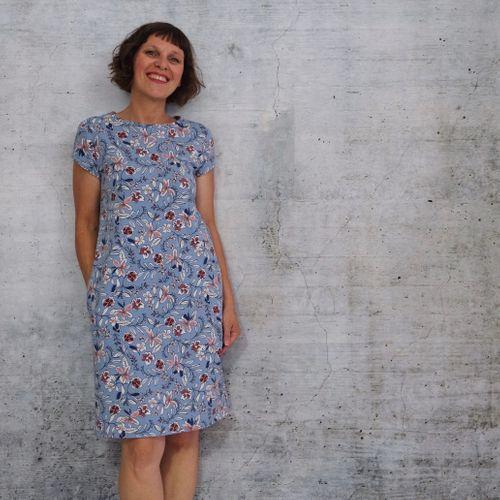 Produktfoto von Rosa P. zum Nähen für Schnittmuster Kleid Nr. 1