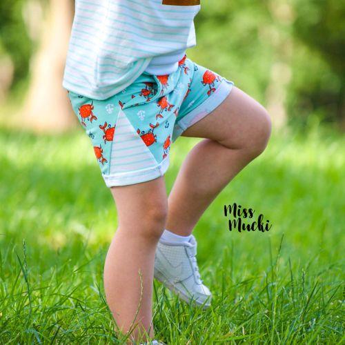 Produktfoto von Näh Bärchen zum Nähen für Schnittmuster Shorty Little