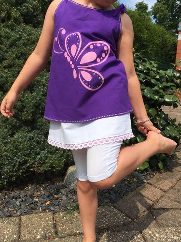 Produktfoto von Mini & Me Patterns zum Nähen für Schnittmuster Hängerchen Girls