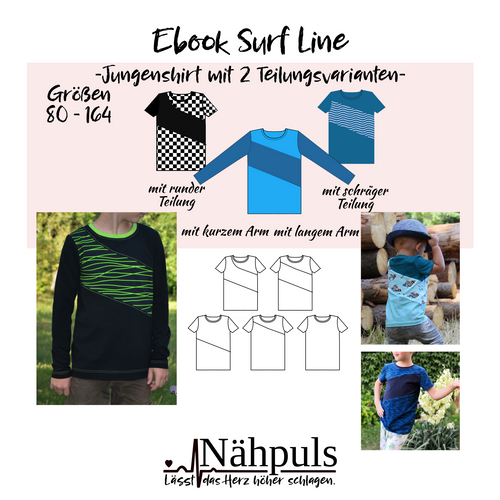 Produktfoto von Nähpuls zum Nähen für Schnittmuster Surf Line