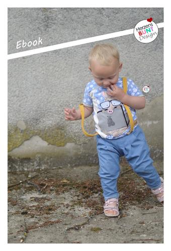 Produktfoto von Herzensbunt Design zum Nähen für Schnittmuster Little Apple