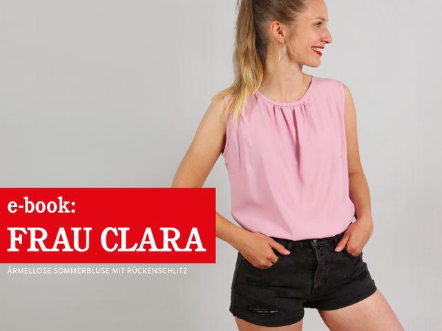Produktfoto von STUDIO SCHNITTREIF zum Nähen für Schnittmuster Frau Clara