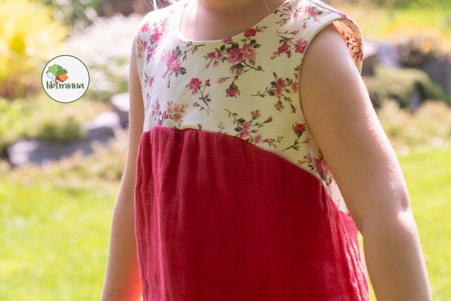 Produktfoto von Libminna zum Nähen für Schnittmuster Lib-Hängerchen