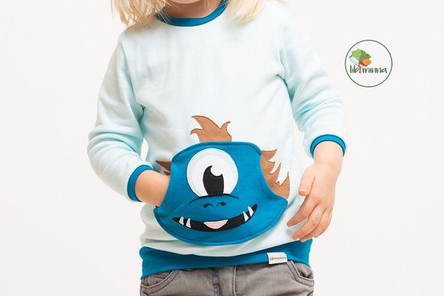 Produktfoto von Libminna zum Nähen für Schnittmuster Lib-Longsleeve + Bauchtasche