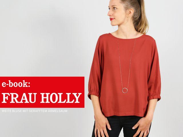 Produktfoto von STUDIO SCHNITTREIF zum Nähen für Schnittmuster Frau Holly