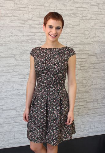 Produktfoto von einfach anziehend zum Nähen für Schnittmuster Herzchenkleid Luise