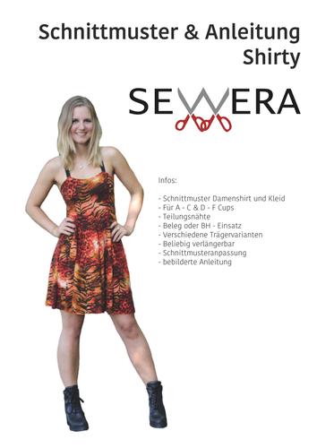Produktfoto von sewera zum Nähen für Schnittmuster Shirty