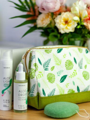 Produktfoto von LaLilly Herzileien zum Nähen für Schnittmuster Vanitybag Bienestar