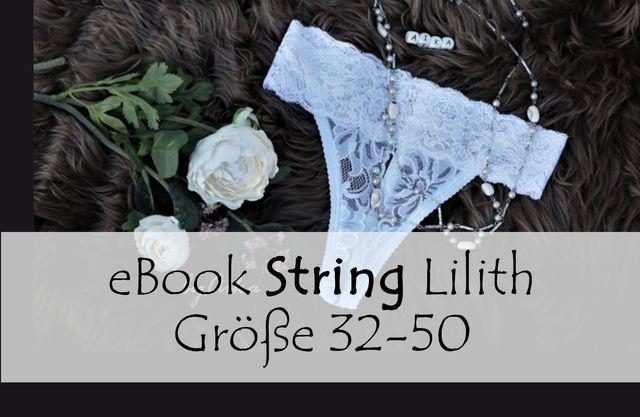 Produktfoto von Bunte Nähigkeiten zum Nähen für Schnittmuster String Lilith