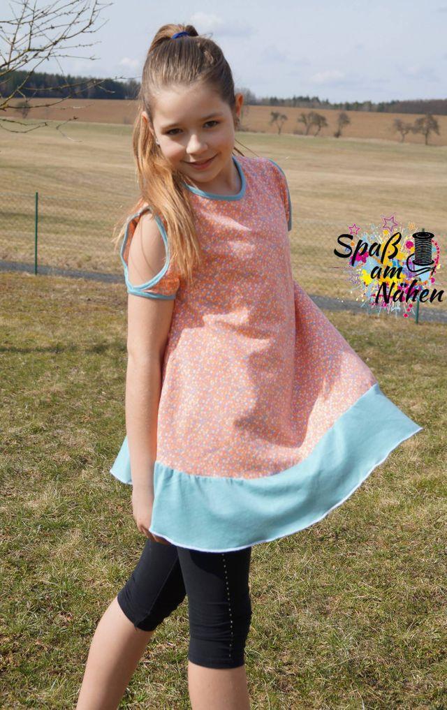 Produktfoto von Sillyjay zum Nähen für Schnittmuster Babydoll Tunika Klein-Susanne