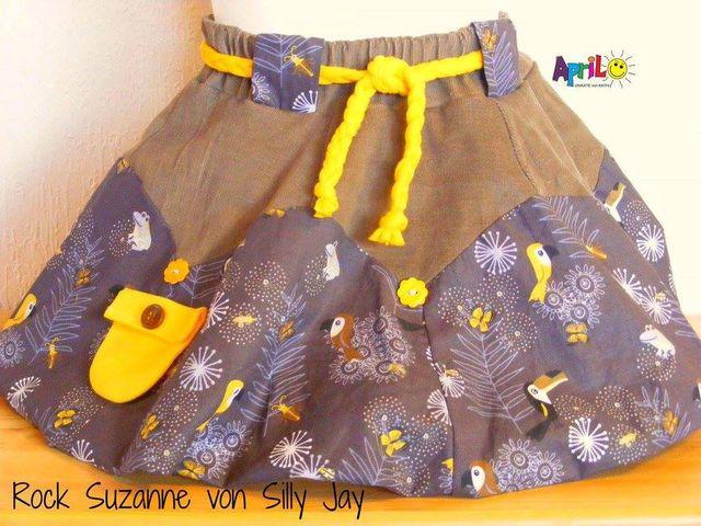 Produktfoto von Sillyjay zum Nähen für Schnittmuster Ballonrock Suzann 86-158