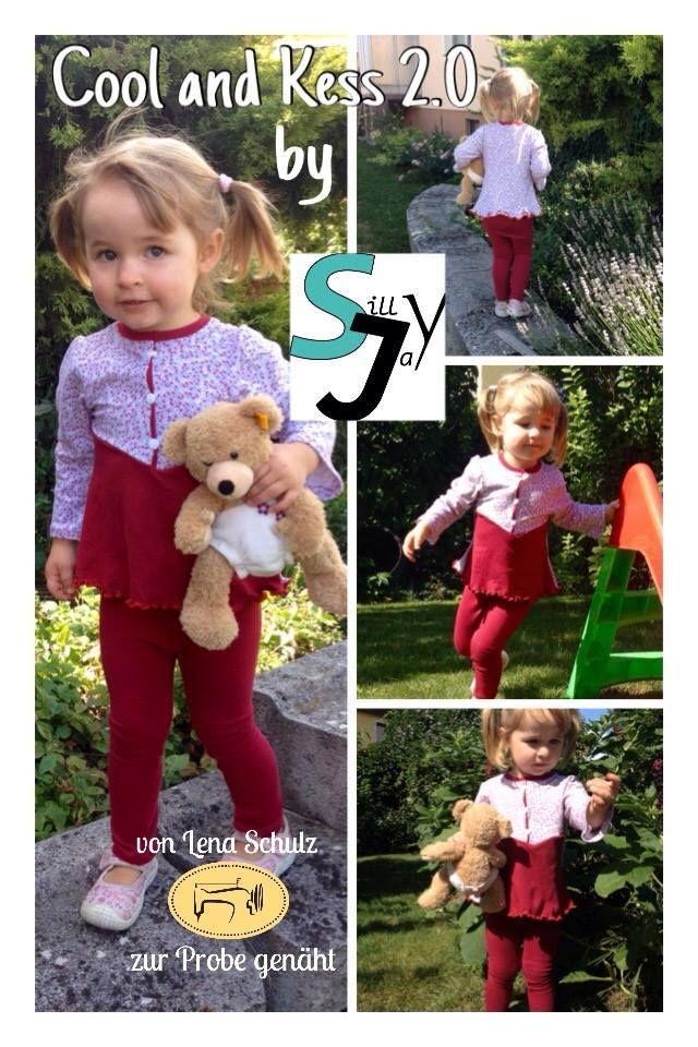 Produktfoto von Sillyjay zum Nähen für Schnittmuster Cool and kess Girls 86-158