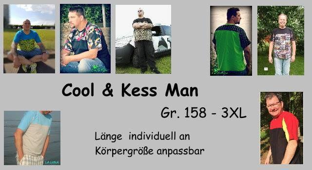 Produktfoto von Sillyjay zum Nähen für Schnittmuster Cool and Kess Men 158-XXXL