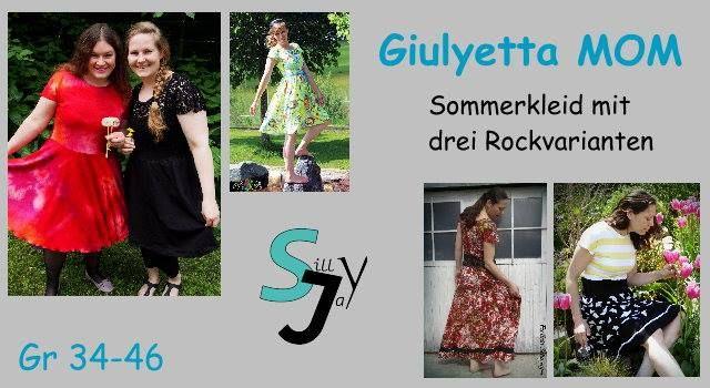 Produktfoto von Sillyjay zum Nähen für Schnittmuster Giulyetta Mom 34-46