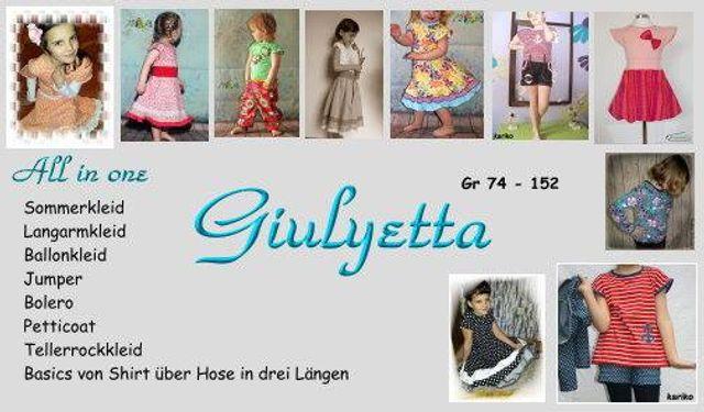 Produktfoto von Sillyjay zum Nähen für Schnittmuster Giulyetta 74-152