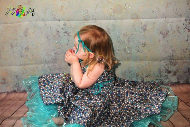 Produktfoto von Sillyjay zum Nähen für Schnittmuster Sommerkleid Romimmy 74-152