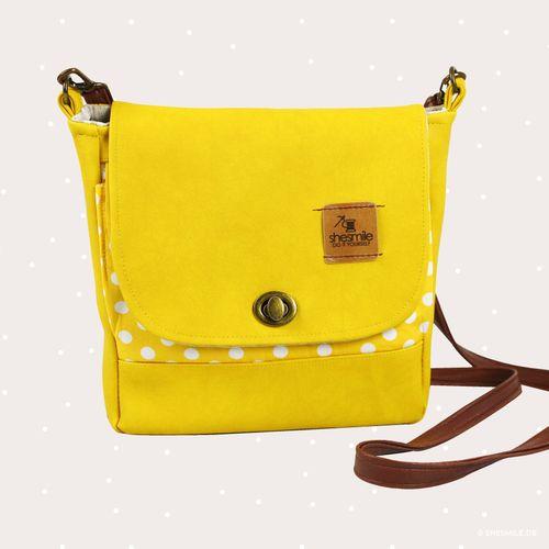 Produktfoto von shesmile zum Nähen für Schnittmuster Handtasche Ulla