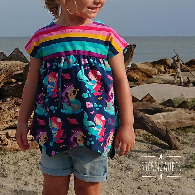 Produktfoto von Zwergnase-Design zum Nähen für Schnittmuster 4season Girl Tunika
