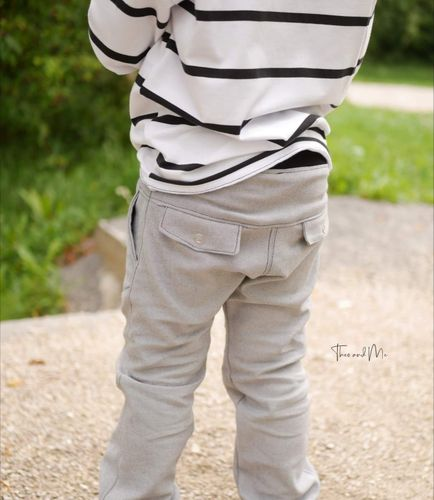 Produktfoto von FrleinFaden zum Nähen für Schnittmuster Lange Taschenklappenhose 104-140