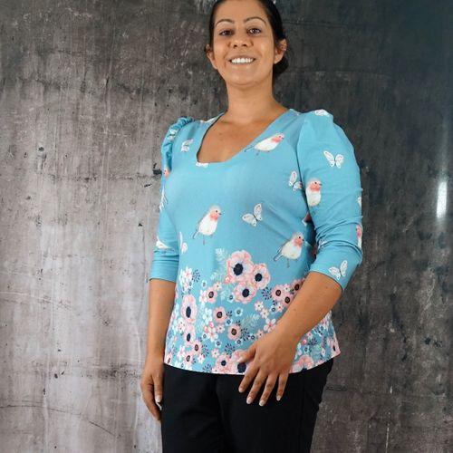 Produktfoto von SchnittmusterLounge zum Nähen für Schnittmuster Shirt Petite Elfie