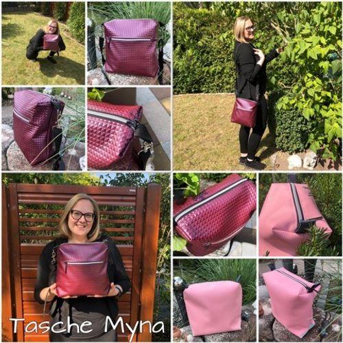 Produktfoto von JaSEWmade - Handmade by Scaryle zum Nähen für Schnittmuster Tasche Myna