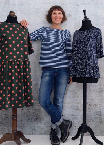 Produktfoto von Rosa P. zum Nähen für Schnittmuster Floora Dress