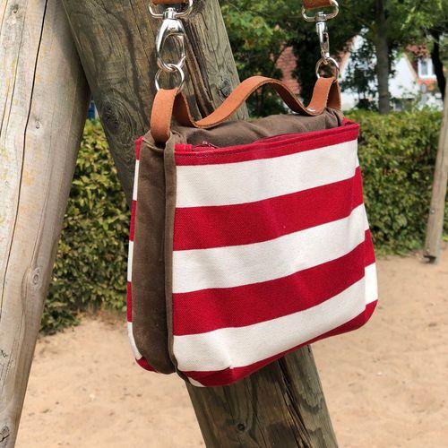 Produktfoto von 11-lein zum Nähen für Schnittmuster Tasche Gwen
