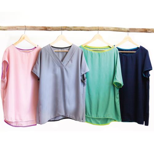 Produktfoto von Buntspechte zum Nähen für Schnittmuster Shirt-Party