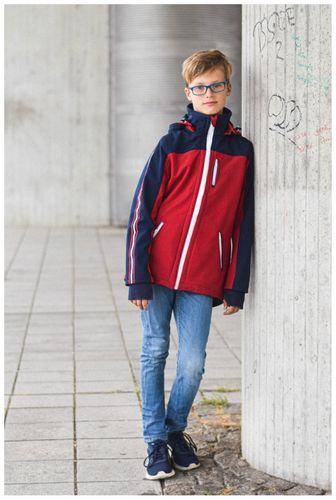 Produktfoto von Meine Herzenswelt zum Nähen für Schnittmuster Softshelljacke Teens - Dein Pablo