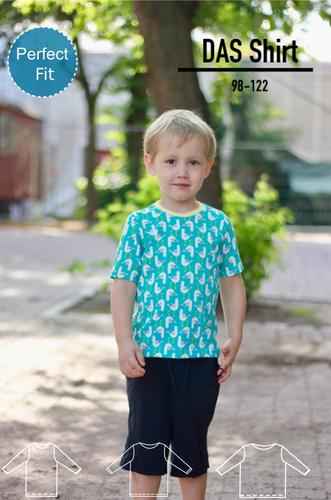 Produktfoto von Berlinerie zum Nähen für Schnittmuster DAS Shirt
