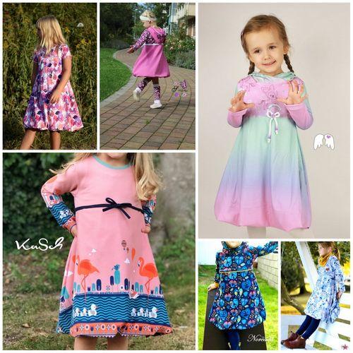 Produktfoto von Engelinchen zum Nähen für Schnittmuster Ballonkleid Valerie