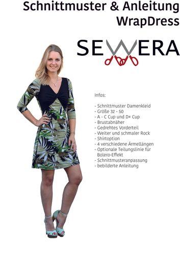 Produktfoto von sewera zum Nähen für Schnittmuster Wrap Dress