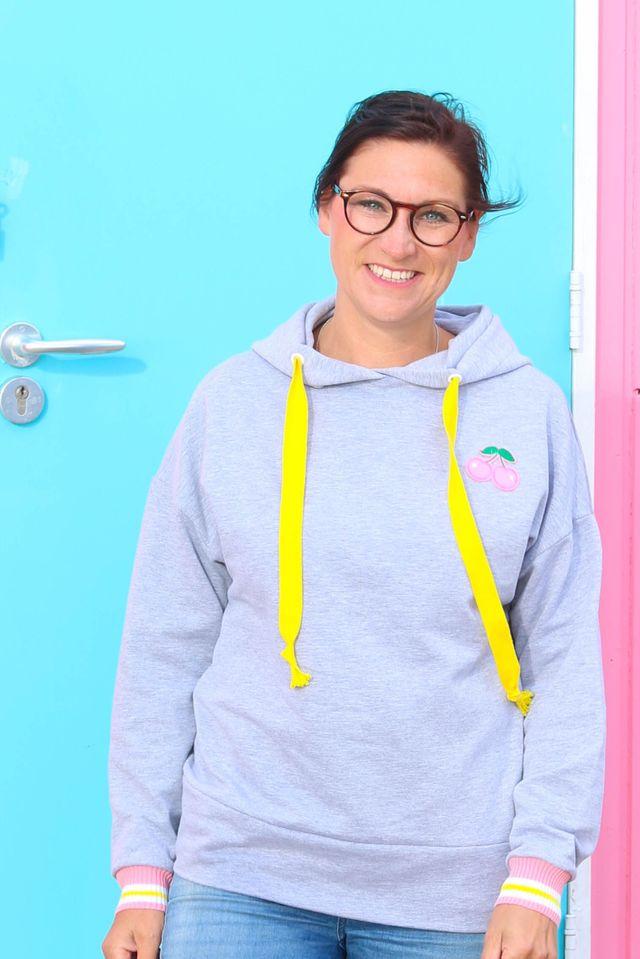 Produktfoto von Kid5 zum Nähen für Schnittmuster #78 Boxy Sweater Women