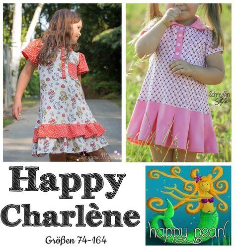 Produktfoto von Happy Pearl zum Nähen für Schnittmuster Happy Charlène