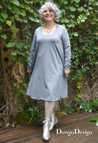 Produktfoto von DongoDesign zum Nähen für Schnittmuster Jerseykleid Annabelle