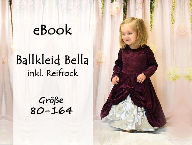 Produktfoto von Bunte Nähigkeiten zum Nähen für Schnittmuster Ballkleid Bella