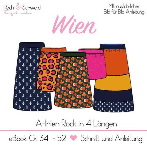 Produktfoto von Pech & Schwefel zum Nähen für Schnittmuster Wien
