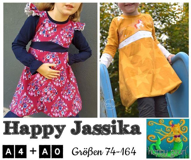 Produktfoto von Happy Pearl zum Nähen für Schnittmuster Happy Jassika