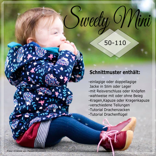 Produktfoto von Näh Bärchen zum Nähen für Schnittmuster Sweety Mini