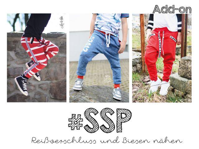 Produktfoto von rosarosa zum Nähen für Schnittmuster #SSP - schmale Sweatpants