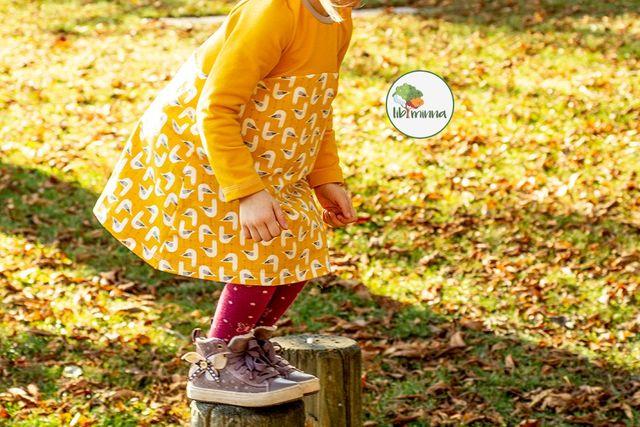 Produktfoto von Libminna zum Nähen für Schnittmuster Lib-Herbstkleidchen