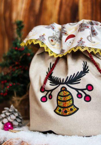 Produktfoto von Mini & Me Patterns zum Nähen für Schnittmuster Mini&Me Nikolaussäckchen